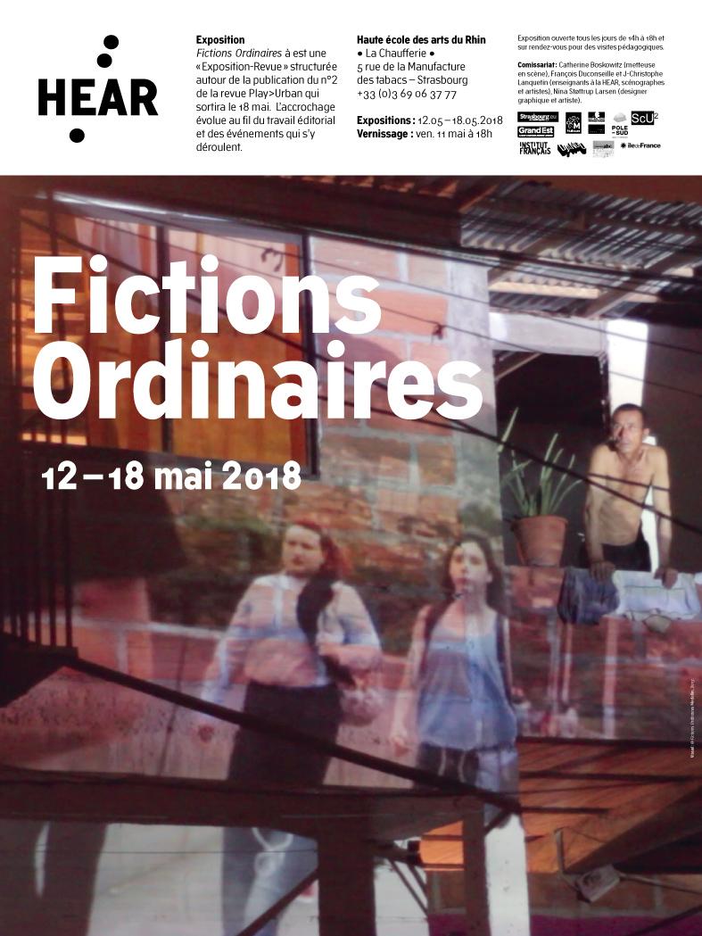 60 x 80 - AFFICHE • Fictions ordinaires