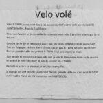PROTOCHORÉGRAPHIES <hr> Vélo volé